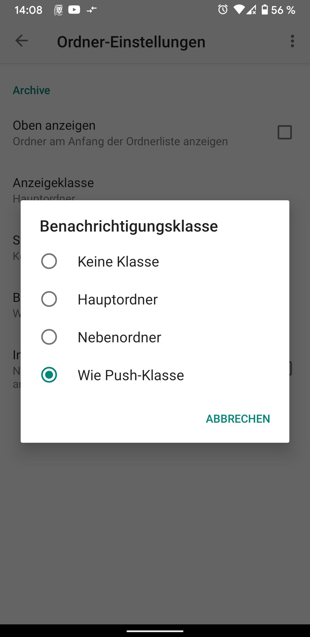 K9 Mail Push